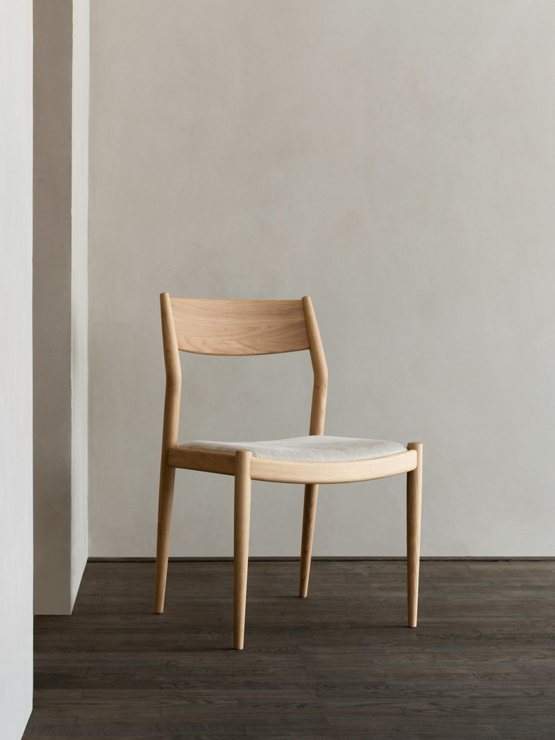 N-DC02 Chair - Upholstered Seat