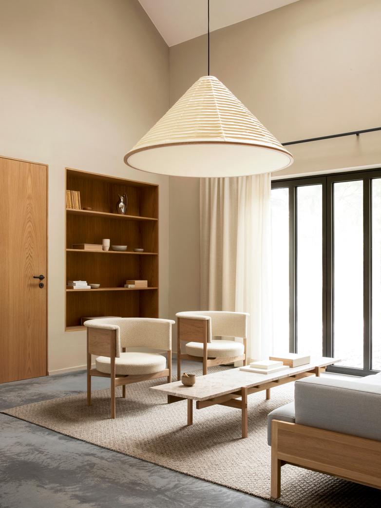 N-CT01 Sofa Table - Oak