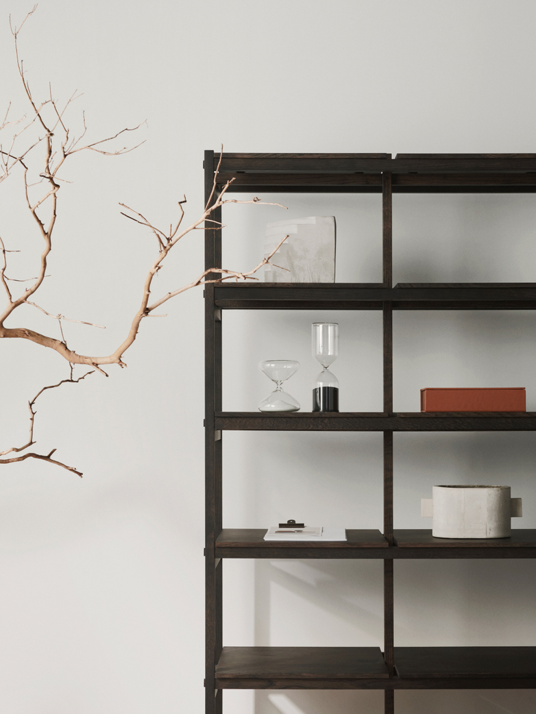 N-SS01 Shelf - Smoked Oak