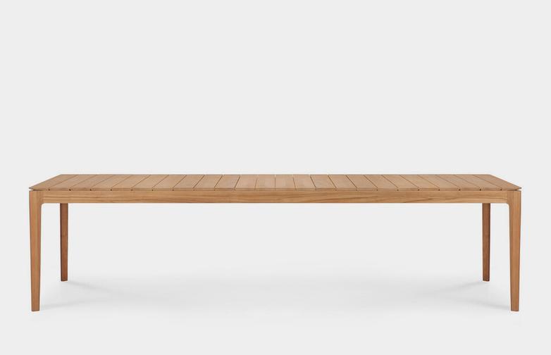 Teak Bok Outdoor Dining Table - 300 cm