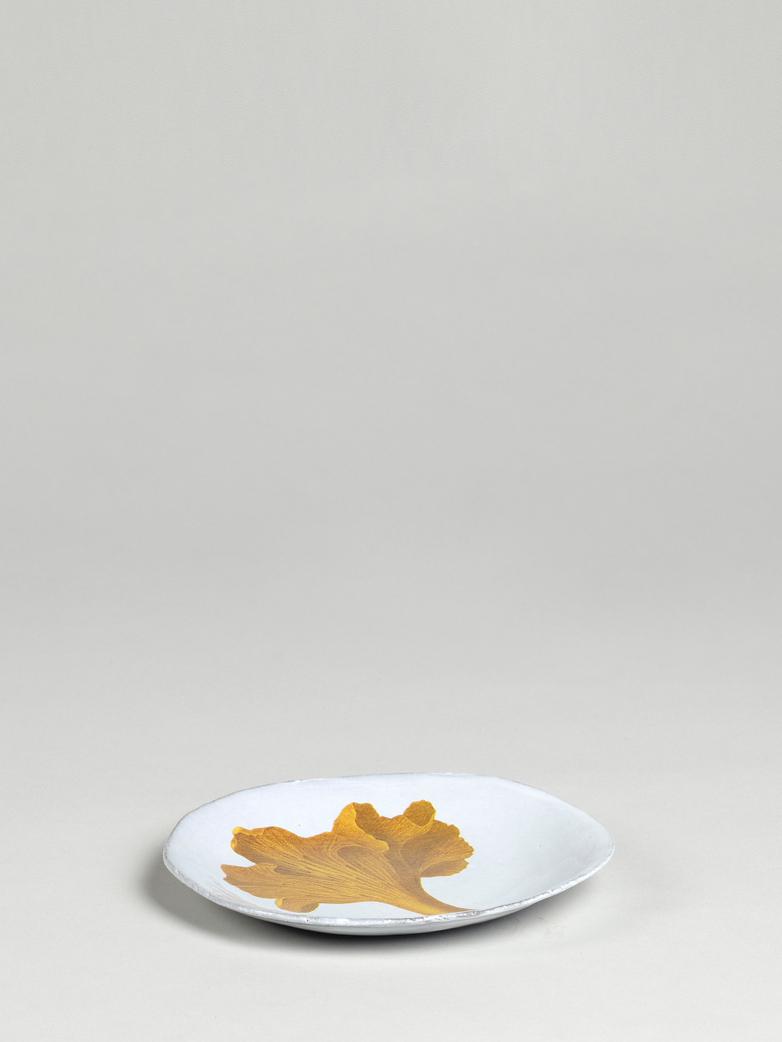 John Derian Chanterelle Dinner Plate