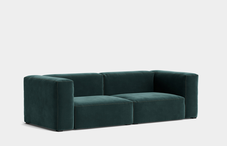 Mags Soft 2,5 Seater Combination 1 - Lola Dark Green