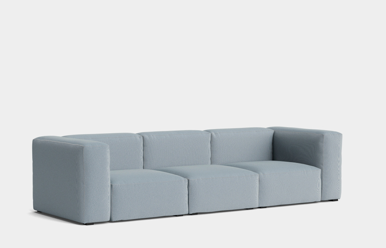 Mags Soft 3 Seater Combination 1 - Steelcut Trio 713