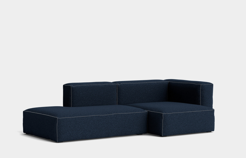 Mags Soft 2,5 Seater Combination 3 Right Armrest - Flamiber Dark Blue