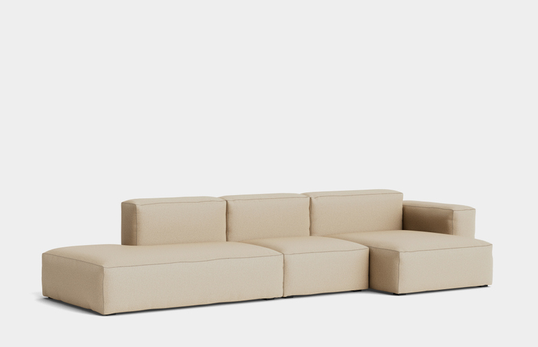 Mags Soft Low - 3 Seater Combination 4 Right Armrest - Hallingdal 220