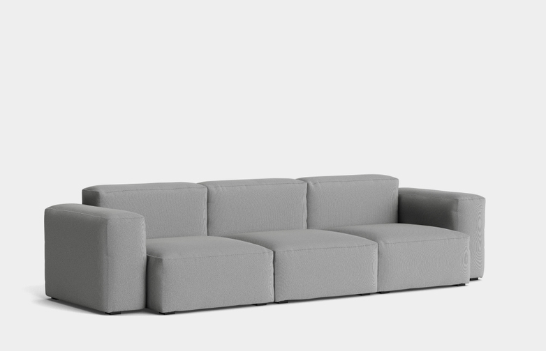 Mags Soft Low - 3 Seater Combination 1 - Steelcut Trio 133