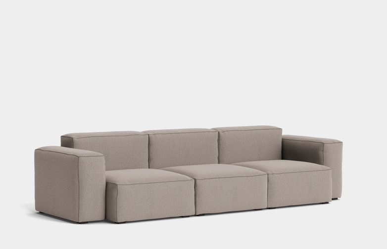 Mags Soft Low - 3 Seater Combination 1 - Re-Wool 628