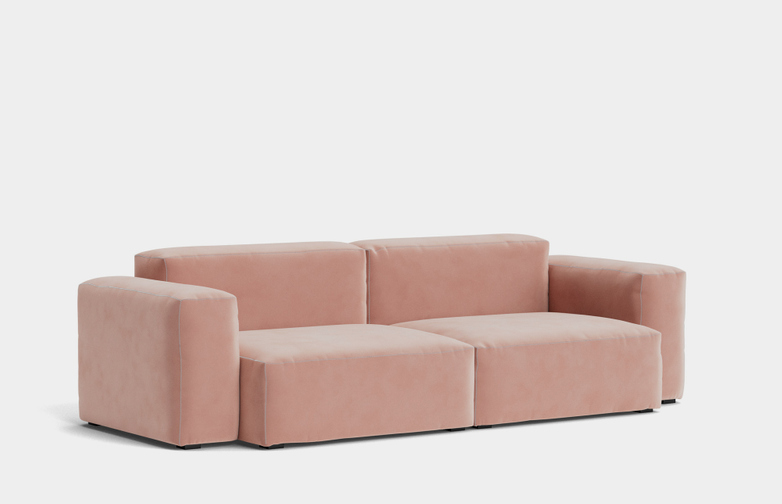 Mags Soft Low - 2,5 Seater Combination 1  - Lola Rose