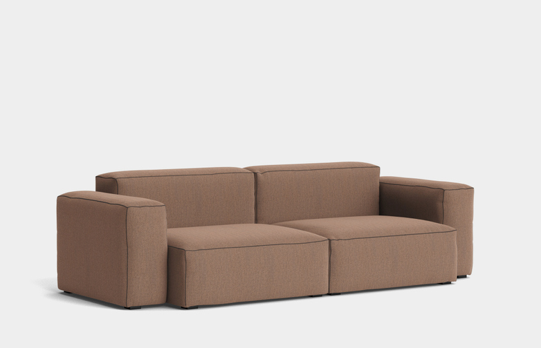 Mags Soft Low - 2,5 Seater Combination 1  - Re-wool 568