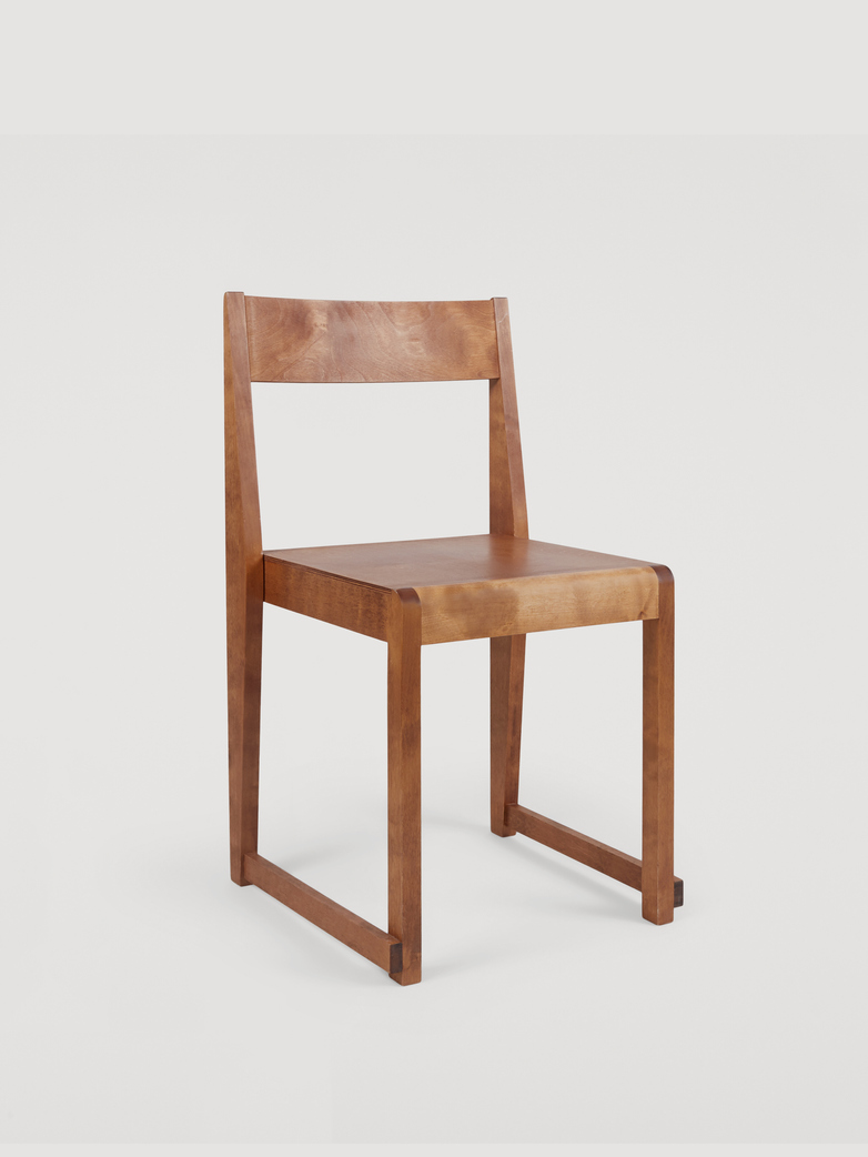Chair 01 - Warm Brown Wood