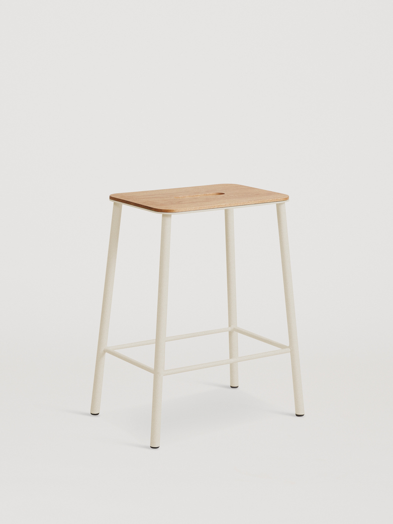 Adam Stool Oak - Sand