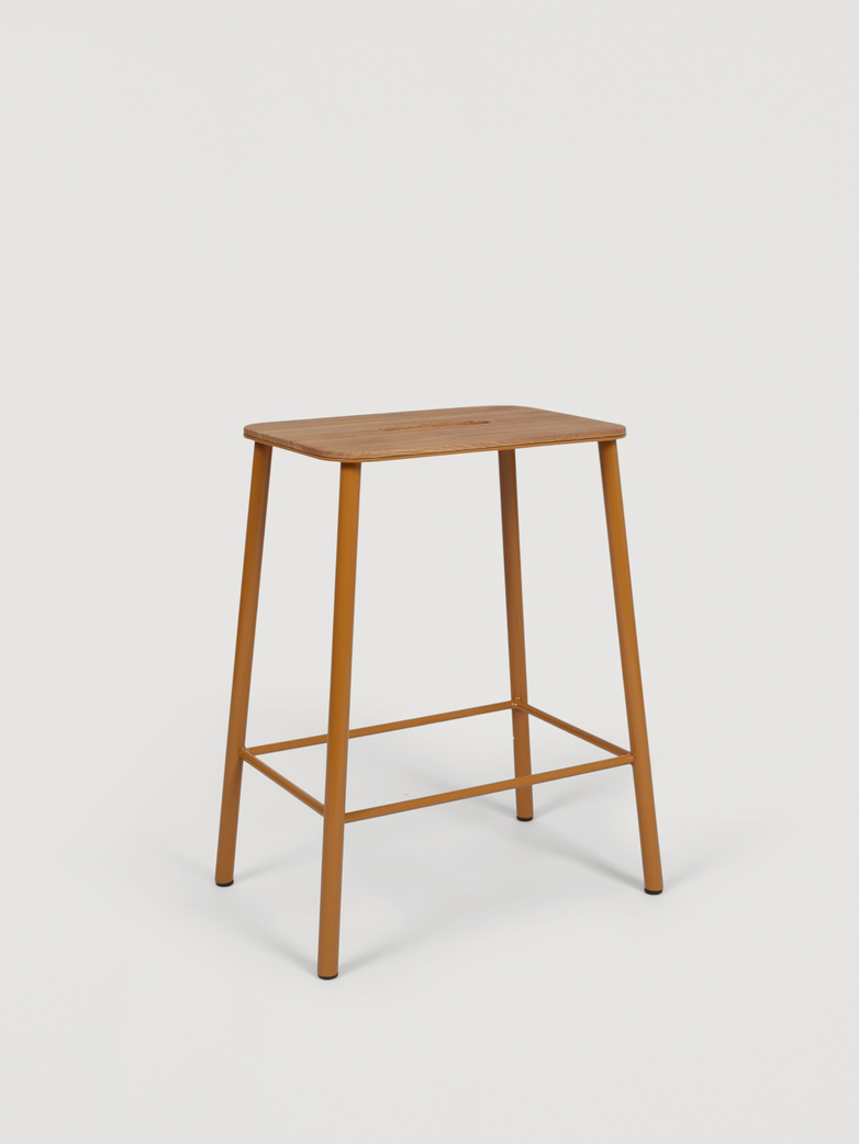 Adam Stool Oak - Burnt Ochre