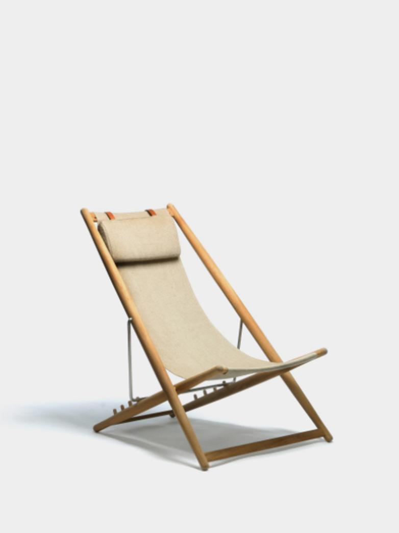 H55 Lounge Chair - Teak/Canvas