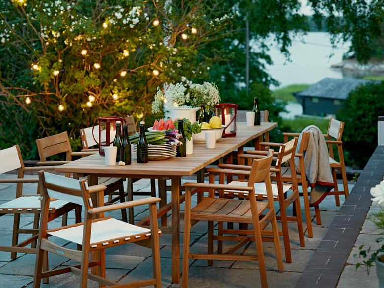 Djurö Dining Armchair - Teak