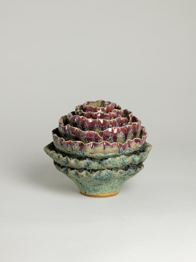 Cabbage Vase Round