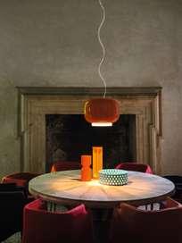Chouchin 1 Pendant LED - Orange