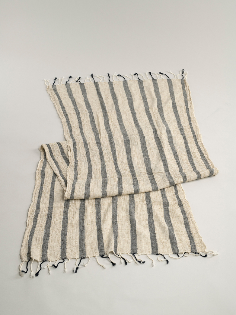Hamam Towel Thin 100x180 cm - Natural Black