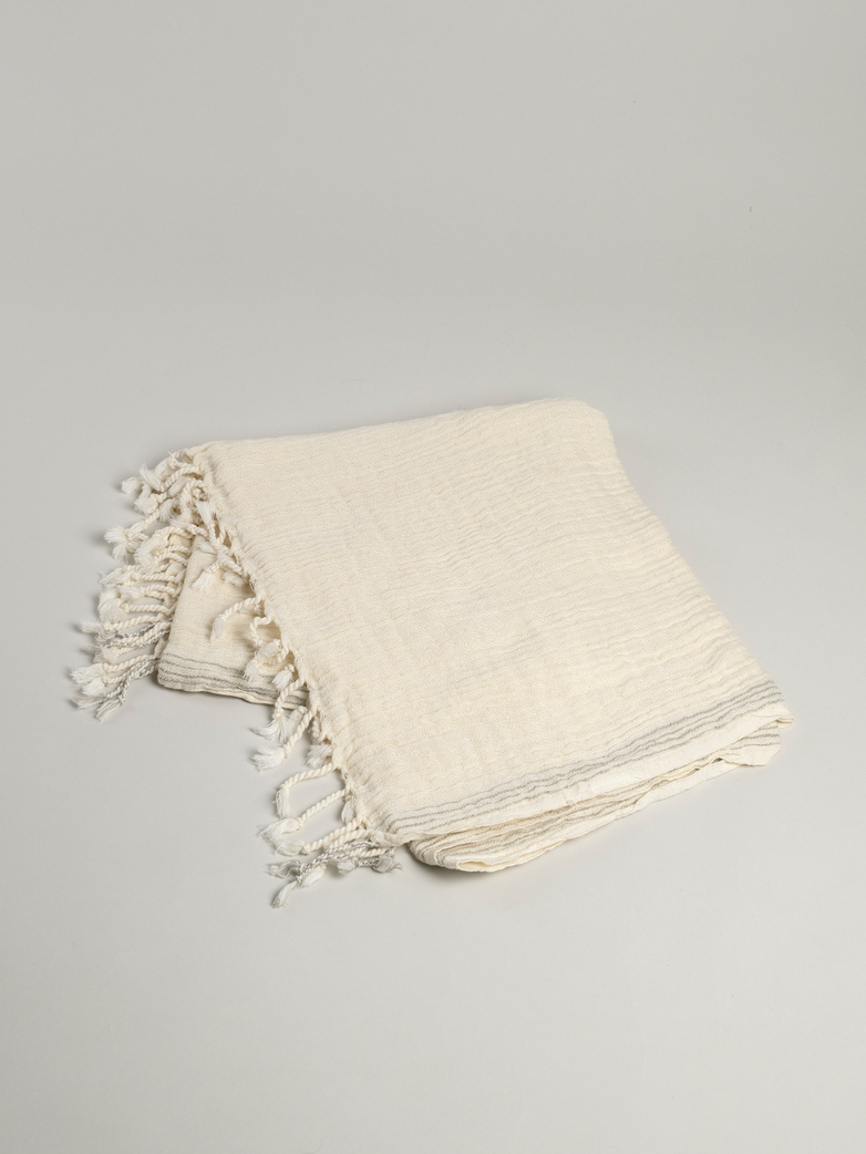 Hamam Towel Thin 70x180 cm - Natural Taupe