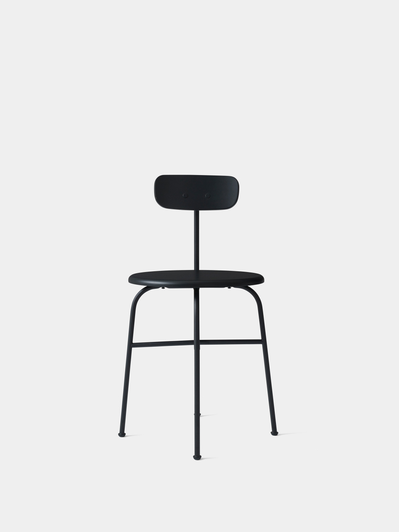 Afteroom Dining Chair - Black Steel