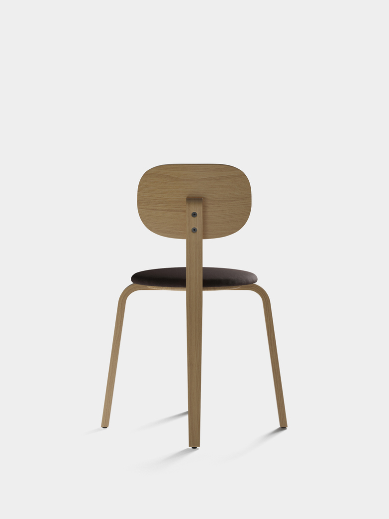 Afteroom Plywood Dining Chair -  Upholstered Seat