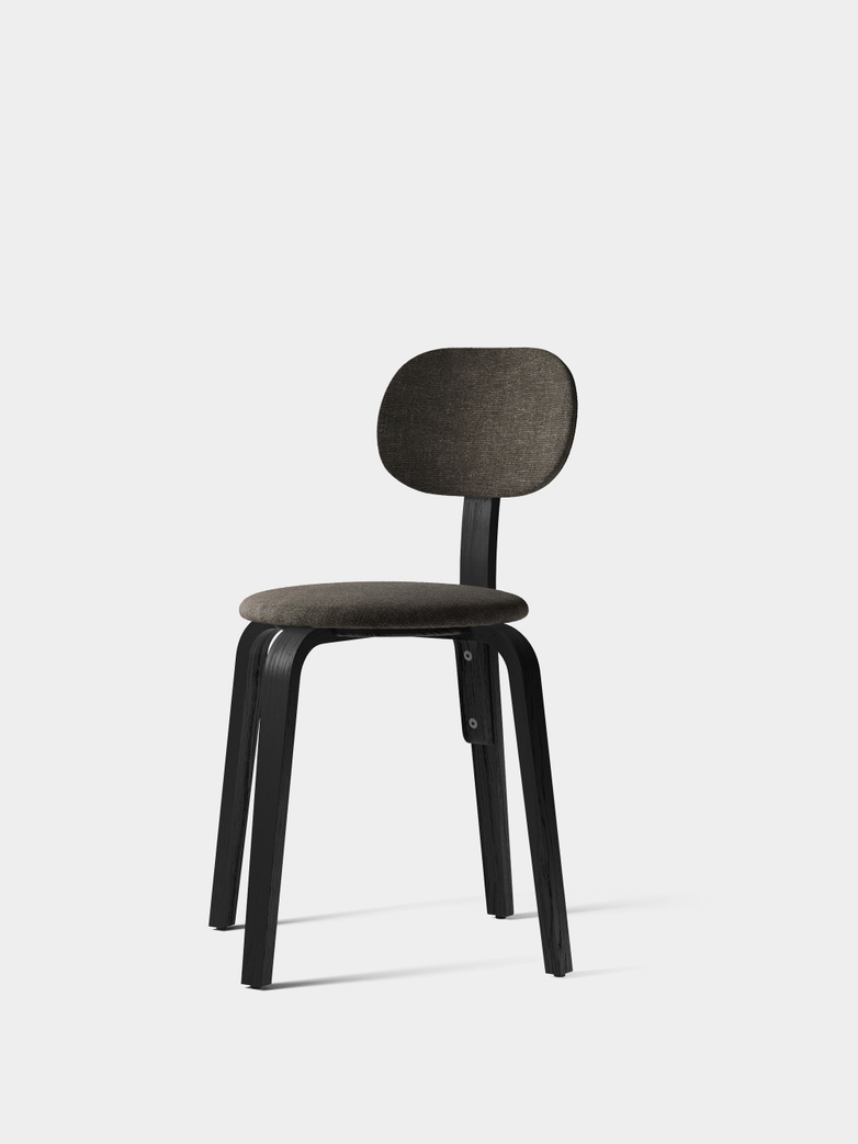 Afteroom Plywood Dining Chair -  Upholstered Seat and Backrest