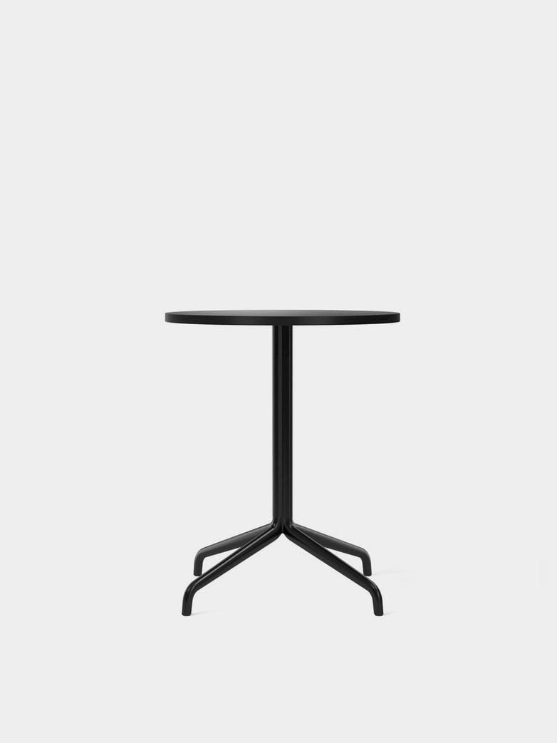 Harbour Column Dining Table Star Base - Charcoal Linoleum