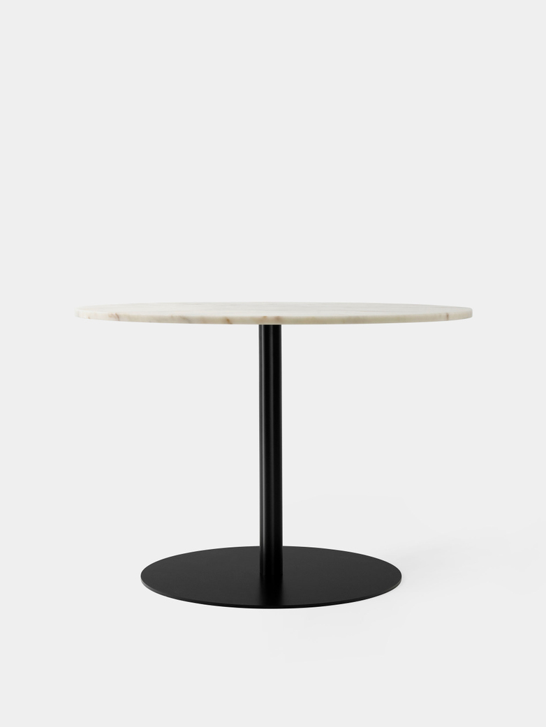 Harbour Column Dining Table - Estremoz Marble