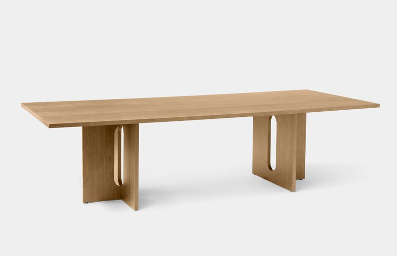Androgyne Dining Table Rectangular - Natural Oak