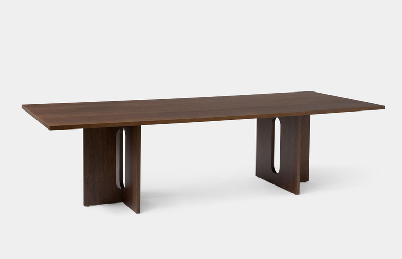 Androgyne Dining Table Rectangular - Dark Stained Oak
