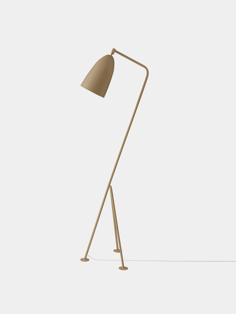 Grasshopper - Floor Lamp - Olive Brown