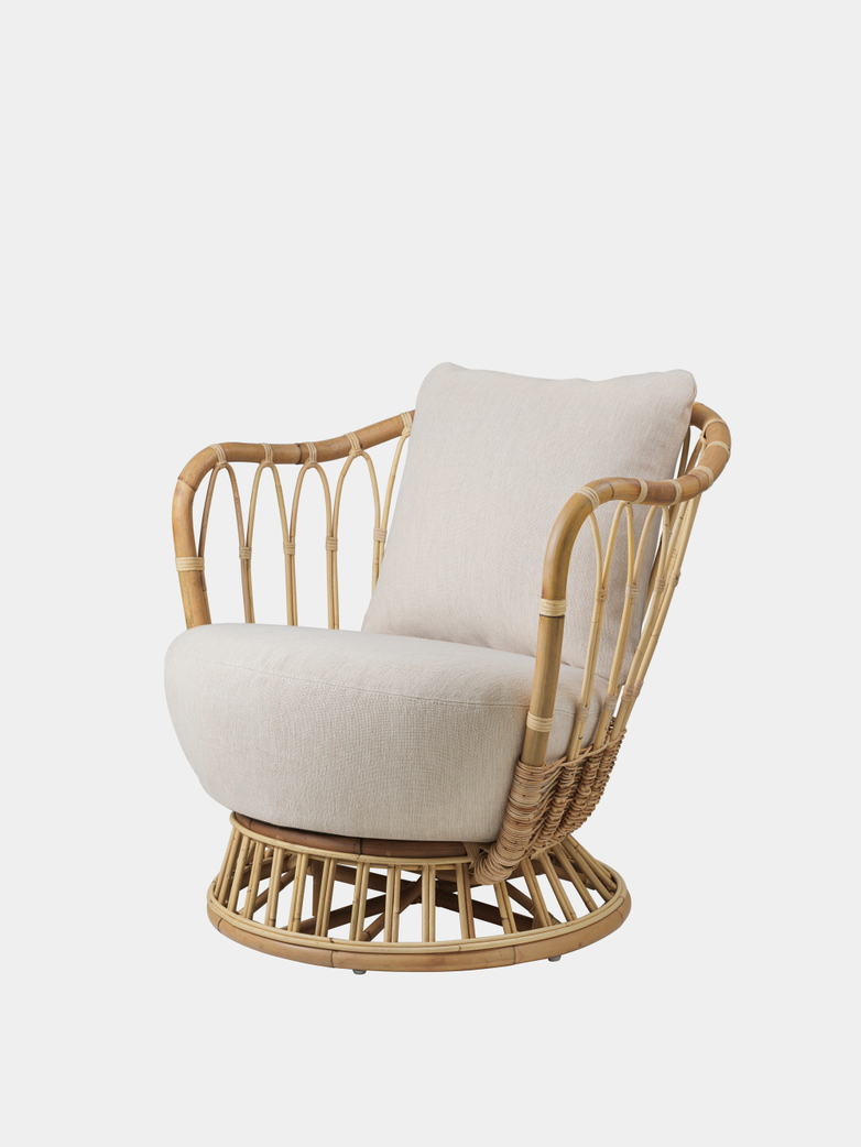 Grace Lounge Chair - Clay