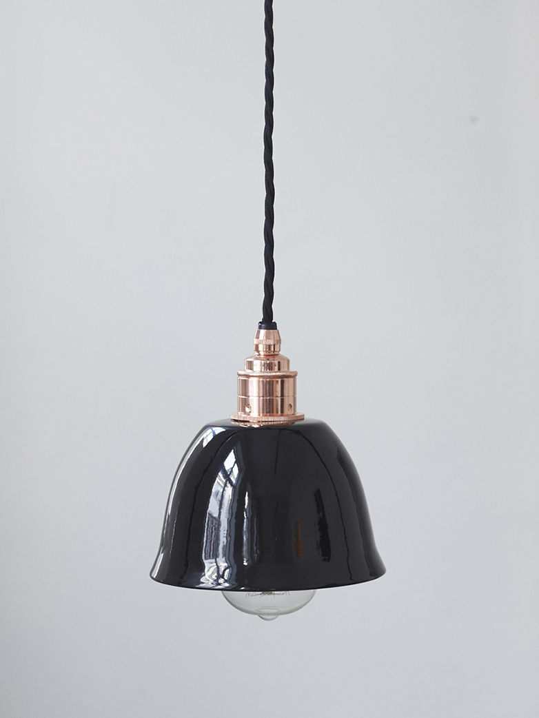 Bell Shade Black - Black / Copper