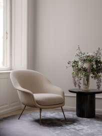 Bat Lounge Chair Low Back - Conic Base