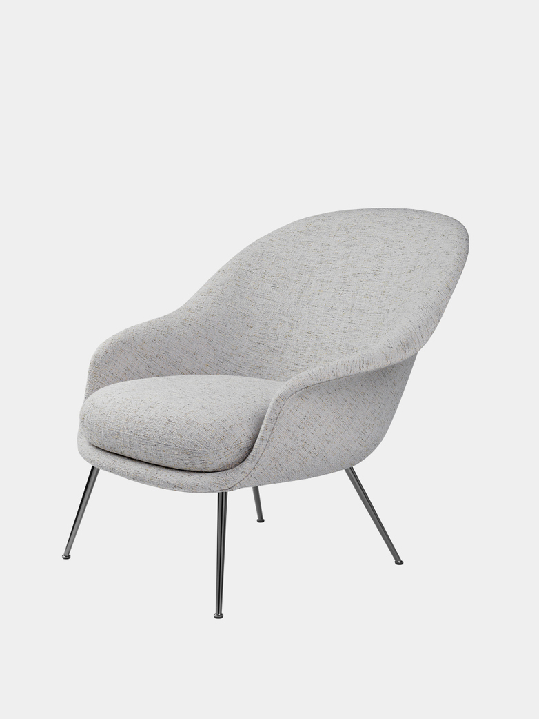 Bat Lounge Chair Low Back - Conic Base