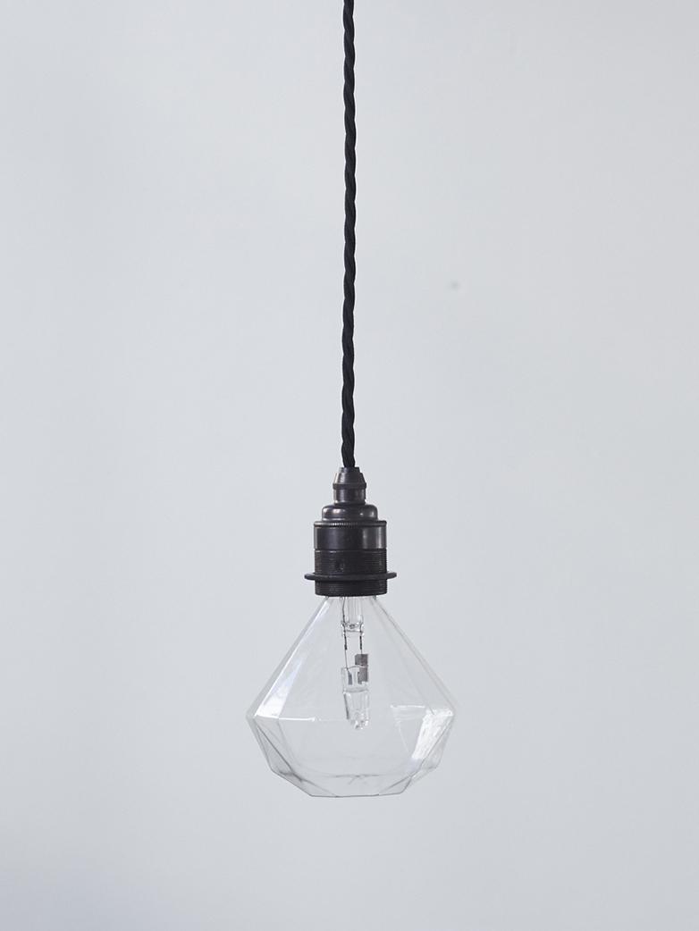Twisted Pendant Set - Black / Black