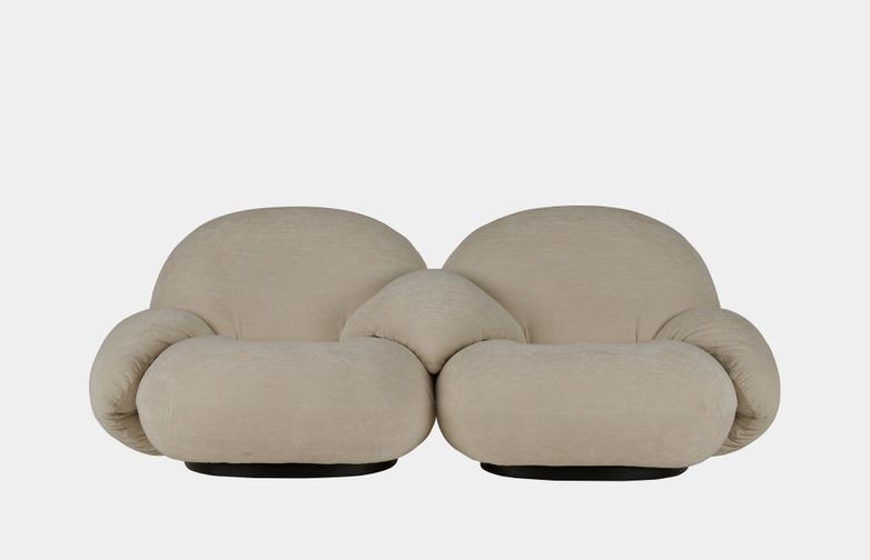 Pacha Sofa Armrest - 2-Seater
