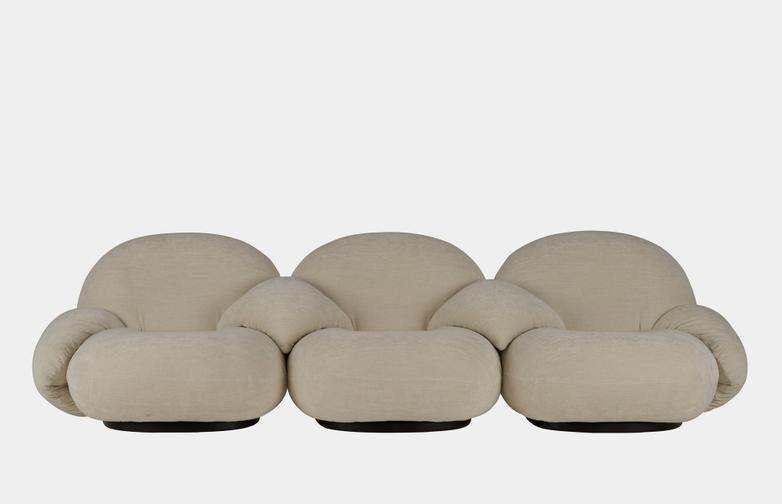Pacha Sofa Armrest - 3-Seater