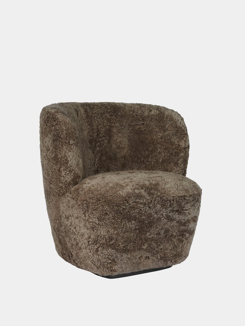 Stay Lounge Chair Small - Sheepskin