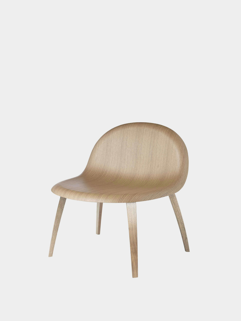 3D Lounge Chair - Wood