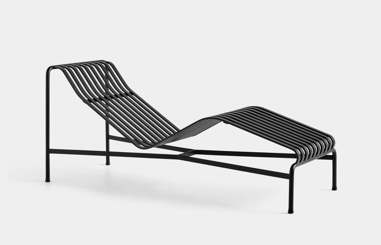 Palissade Chaise Lounge - Anthracite