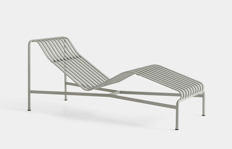 Palissade Chaise Lounge - Sky Grey
