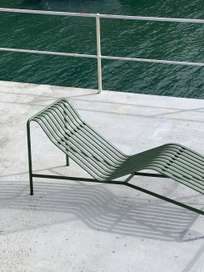 Palissade Chaise Lounge - Olive