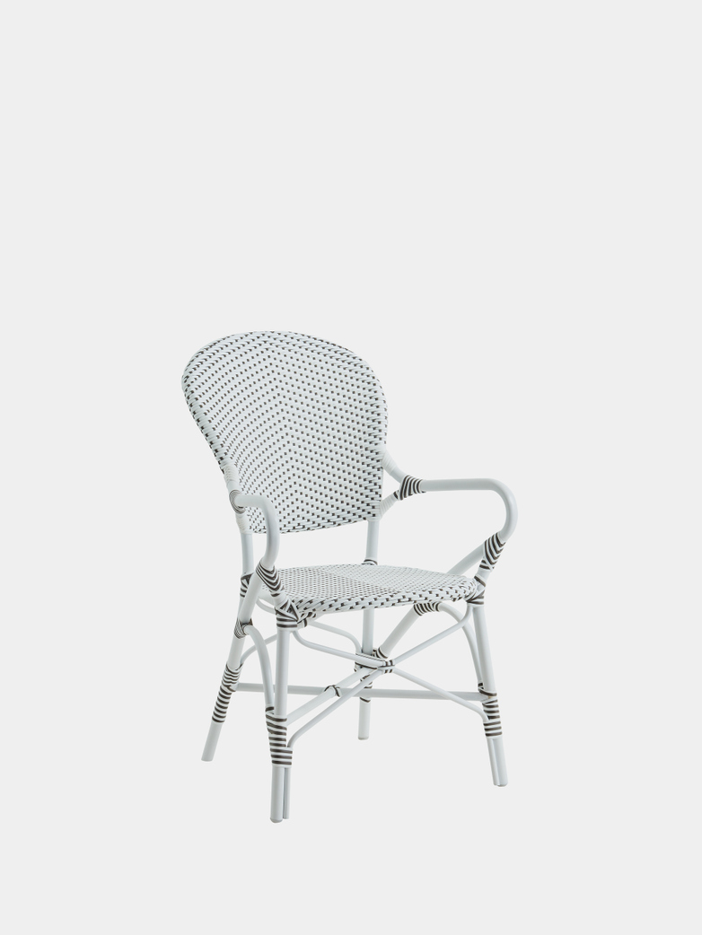 Isabell Exterior Armchair - White