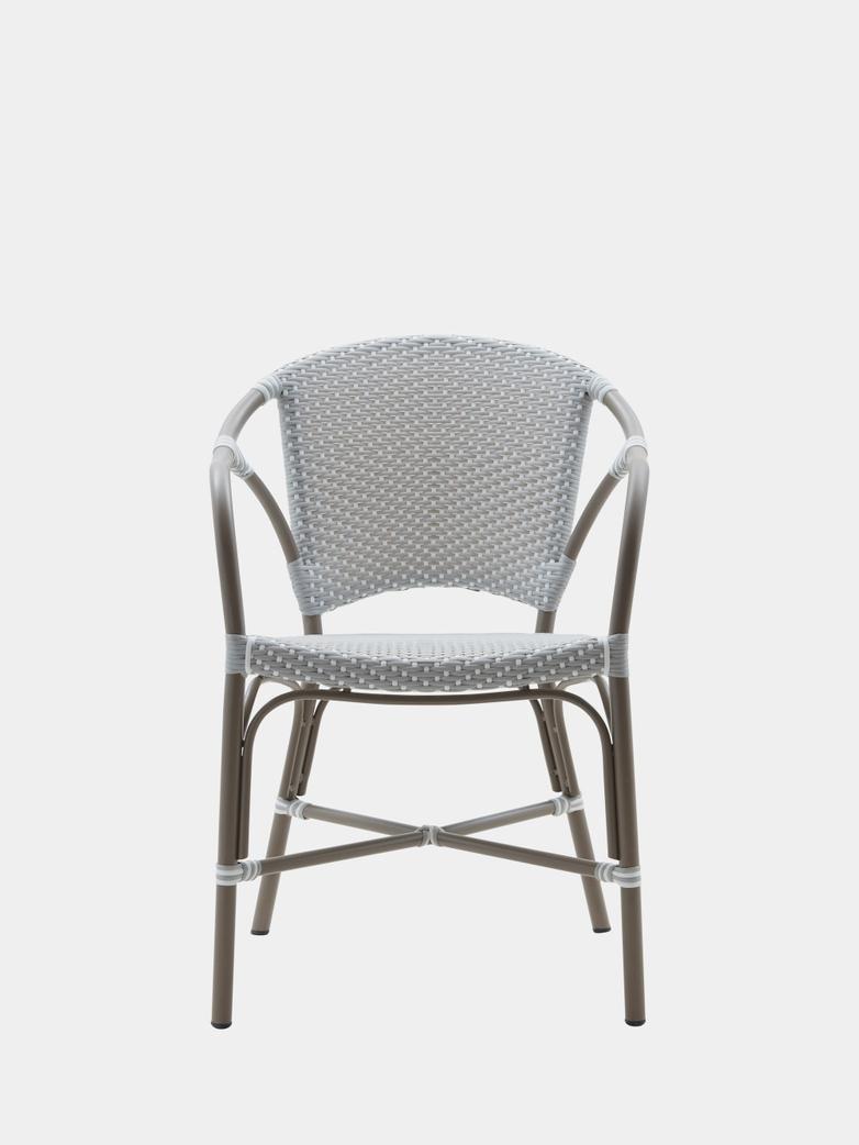 Valerie Chair - Grey/White