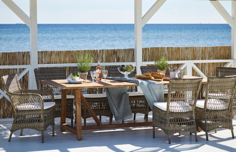 George Teak Table Outdoor - Extendable