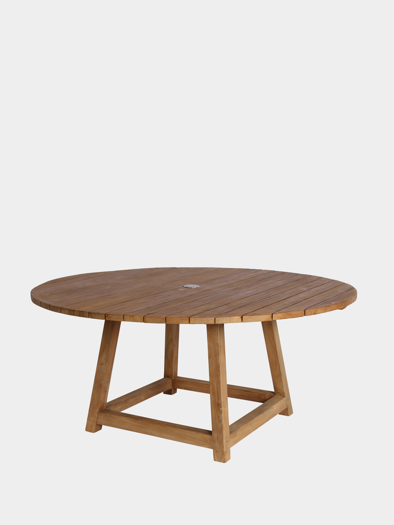 George Round Teak Table Outdoor