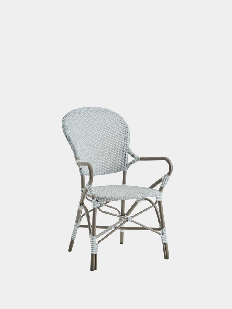 Isabell Exterior Armchair - Grey