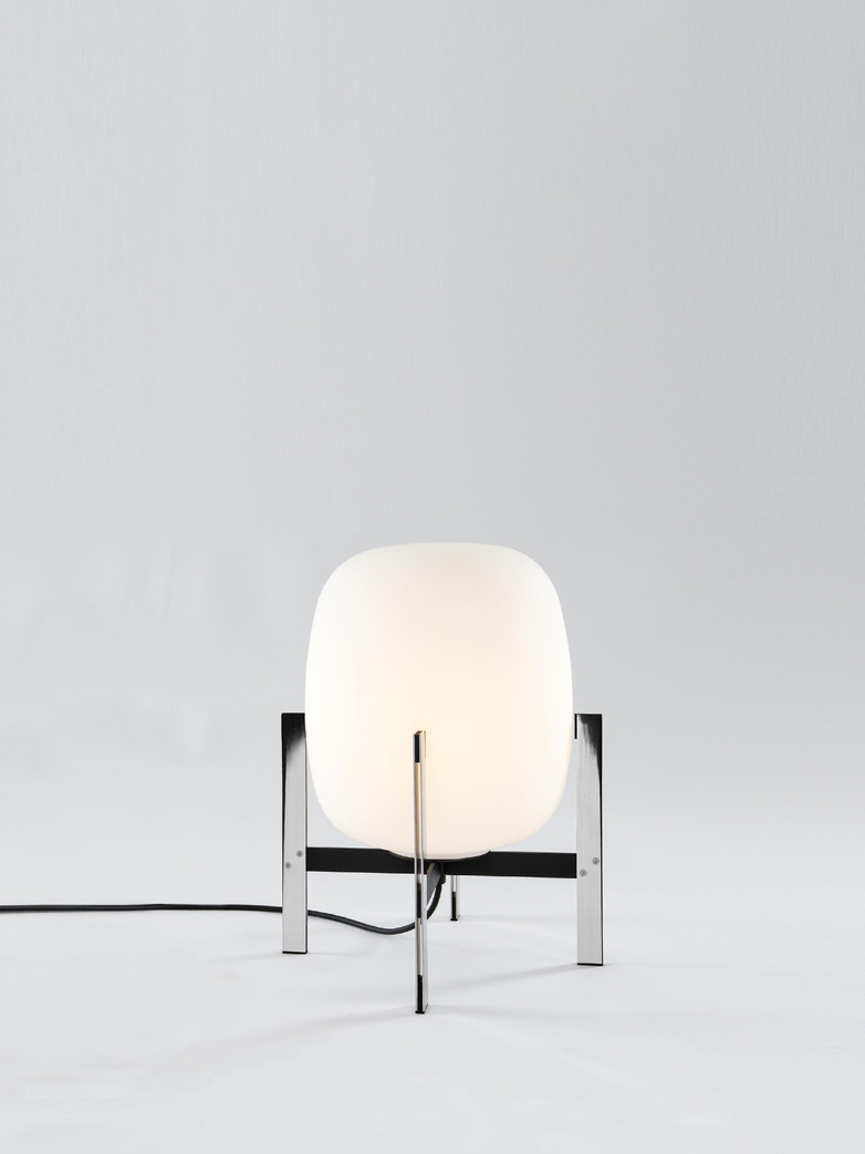 Cesta Metálica - Table Lamp