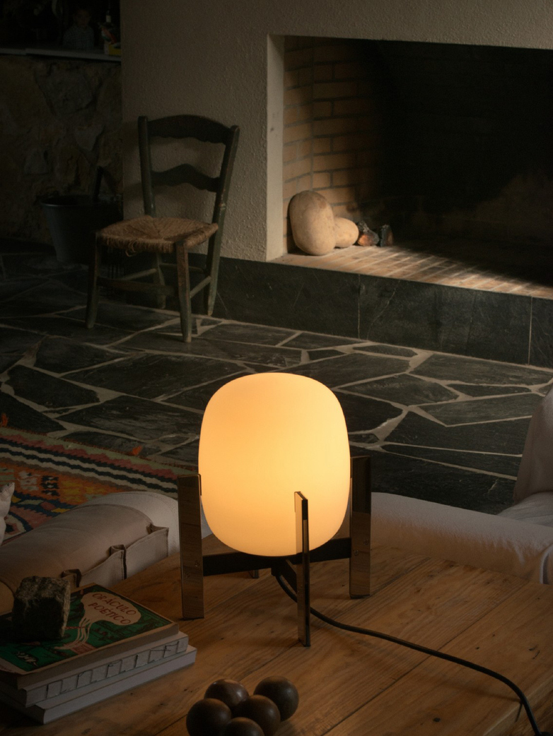 Cestita Metálica - Table Lamp