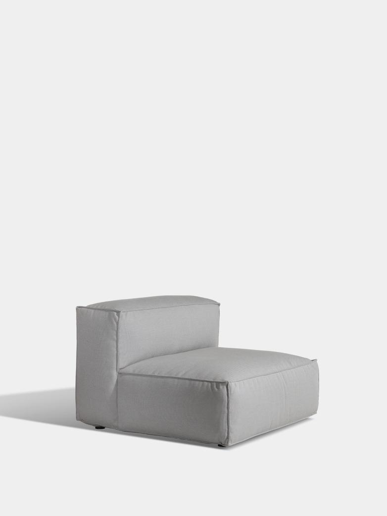 Asker Sofa Mid Section Large - Light Grey